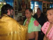 Святе Таїнство Хрещення прийняли засуджені Бердичівської виправної колонії (№70)