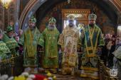 Митрополит Никодим привітав Правлячого архієрея Вінницької єпархії із Днем Ангела!
