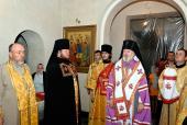 Архиерейсое Богослужение в Коростышевском благочинии.