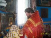 Престольный праздник  в древнем Свято-Никольском храме села Слобидка.