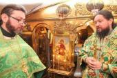 Митрополит Никодим звершив Божественну літургію у Ближніх печерах Києво-Печерської Лаври!