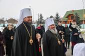 Митрополит Никодим привітав з Днем Ангела Правлячого архієрея Володимир-Волинської кафедри.