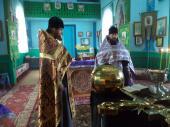 Освящены надкупольные кресты в селе Старый Майдан