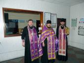 Освящение райотдела милиции в г. Коростышеве.
