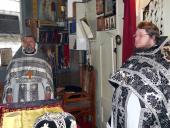 В Коростышеве состоялась Литургия Преждесвященных Даров.