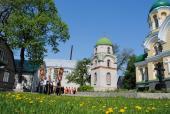 Престольне свято у Свято-Георгіївському Городницькому чоловічому монастирі.