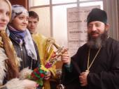 У день Входу Господнього до Єрусалиму в Свято-Миколаївському соборі звершено Божественну Літургію.