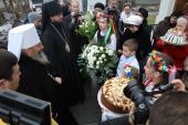 Вітаємо Вас Ваше Блаженство у Житомирі!