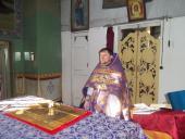 Літургія святителя Григорія Двоєслова в місті Чуднів.