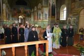 Соборне служіння Новоград-Волинського Троїцького благочиння
