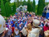 В день пам`яті пророка Божого Ілії митрополит Никодим взяв участь в Божественній літургії з нагоди Престольного свята єдиного діючого храму Чорнобильської зони відчудження!