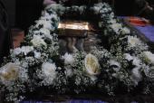 Винос та погребіння Святої Плащаниці у Спасо-Преображенському кафедральному соборі.
