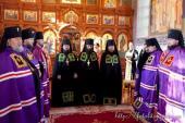Житомирський Архіпастир взяв участь у нареченні та єпископській хіротонії намісника Глинської пустині.
