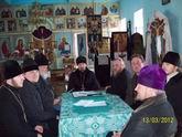 Відбулися збори священства  Любарського округу.