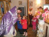 Престольне свято відзначив Свято-Хрестовоздвиженський храм с. Великої П'ятигірки