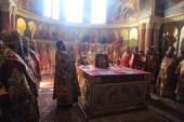 Архієпископ Никодим привітав намісника Києво-Печерської Лаври із 56-річчям!