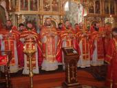 У Світлу П'ятницю в Свято-Миколаївському соборі звершено соборне Богослужіння
