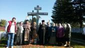 У селі Хажині освячено Поклінний хрест
