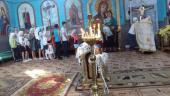 У Свято-Покровському храмі с. Никонівки  звершили молебень перед початком нового навчального року!