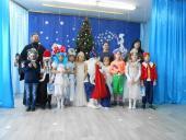 Священик привітав маленьких дошкільнят і школяриків із Різдвяно-новорічними святами!