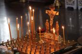 Архієпископ Никодим звершив заупокійну літургію у Свято-Успенському архієрейському соборі.