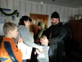 Духовенство Свято-Миколаївського собору м. Бердичева привітало вихованців школи-інтернату з Різдвяно-новорічними святами!