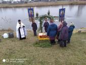 У селі Скаківці Хрещення Господнє святкували, йорданською водою вмивалися…