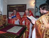 Соборное Богослужение в селе Царивка.