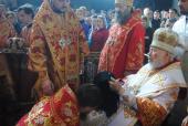 Блаженніший митрополит Володимир возвів у сан архієпископа єпископа Никодима.