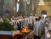 У Житомирському Спасо-Преображенському кафедральному соборі розпочались урочисті богослужіння з нагоди Престольного свята!