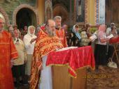 Престольне свято у Свято-Миколаївському храмі селища Попільні.