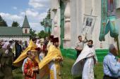 Храмове свято в Червоному.