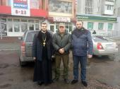 Житомирська єпархія передала українським військовим теплі речі!