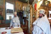 Праздничное соборное богослужение в Коростышеве.