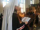 Митрополит Никодим звершив читання першої частини покаянного канону!