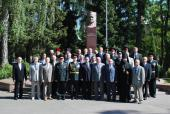 Житомирський Архіпастир привітав випускників Житомирського військового інституту.