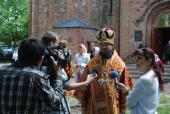 Архієпископ Никодим взяв участь у святковому Богослужінні в місті Овруч.
