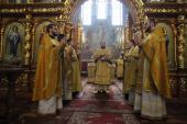 Митрополит Никодим очолив воскресну літургію у Спасо-Преображенському кафедральному соборі!