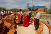 Роботи по будівництву нового храму в смт. Любар.
