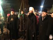 Митрополит Никодим взяв участь у Різдвяному вечорі колядок в Андрушівці!
