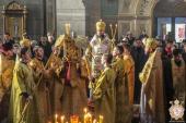 У неділю 24-ту після П'ятидесятниці Митрополит Никодим звершив Божественну літургію в Спасо-Преображенському соборі міста Житомира!