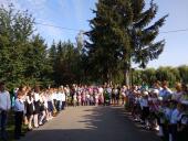 Свято-Першого дзвоника у Великій П'ятигірці: в школу з молитвою!