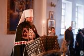 Останню частину покаянного канону митрополит Никодим звершив у Свято-Анастасіївському монастирі Житомира.