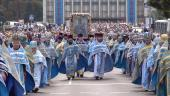 """У Житомирі відзначили День шанування образу Пресвятої Богородиці """"Подільська"""": Божественна літургія та хресний хід!"""
