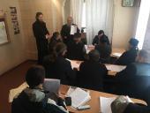 Разом із юристом зібрання духовенства Попільнянського благочиння відвідав керівник відділу по міжконфеційним відносинам