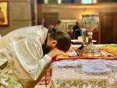 Правлячий архієрей очолив Божественну літургію у кафедральному соборі в день свята Вознесіння Христового!