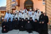 Митрополит Никодим взяв участь у соборному Богослужінні в Спасо-Покровському жіночому монастирі у селі Вільха.