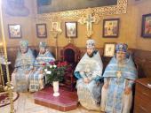 Покров Пресвятої Богородиці молитовно відзначили у Попільні