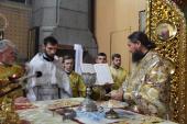 Недільна літургія у Спасо-Преображенському кафедральному соборі!