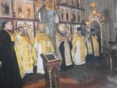 Сторічну парафіянку Свято-Миколаївського собору Катерину Андріївну Ходакову привітали з віковим ювілеєм!